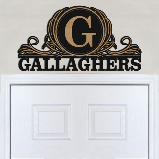 Personalized Family Name Sign | Gallaghers