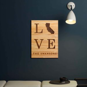 SIGN-WOOD-LOVE