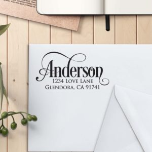 Personalized Return Address Stamp | Anderson