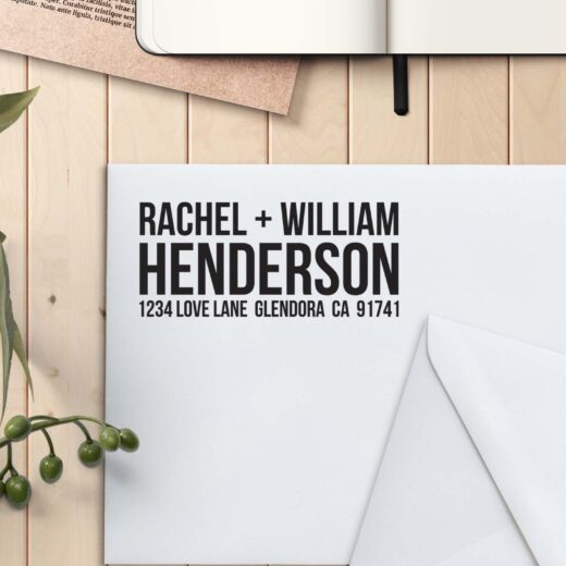 Personalized Return Address Stamp | Henderson
