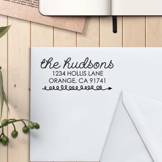 Personalized Return Address Stamp | Hudson