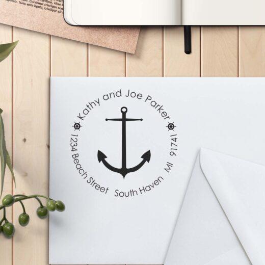 Personalized Return Address Stamp | Kathy Joe Parker