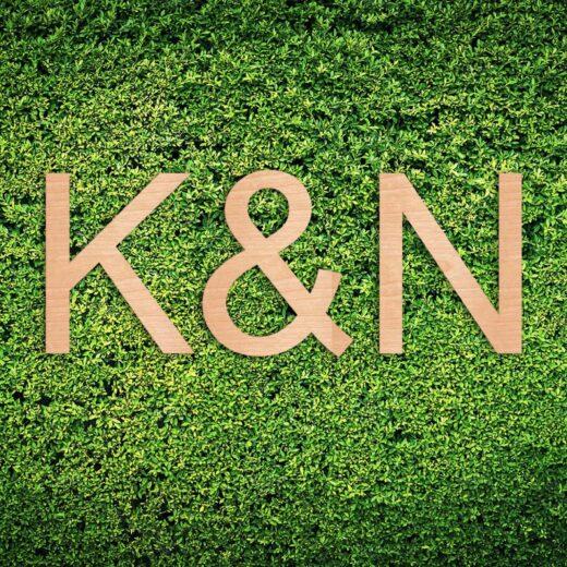 Wood Hedge Wall Sign | K&N