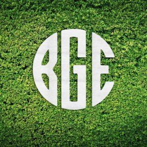 Wood Hedge Wall Sign | BGE