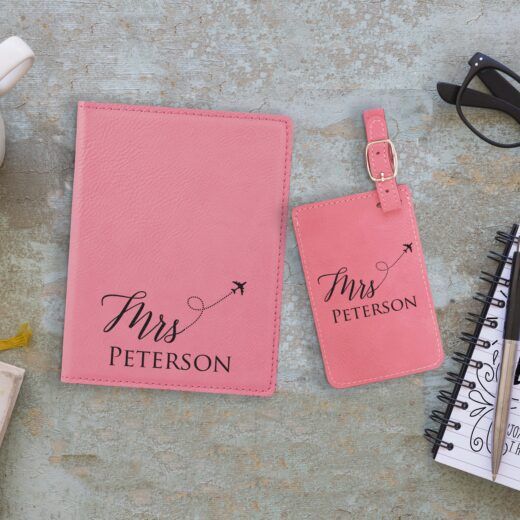 Leather Passport & Luggage Tag Set | Peterson