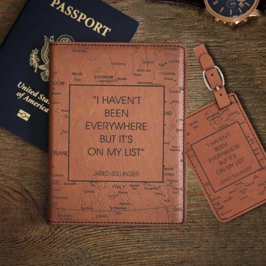 Leather Passport & Luggage Tag Set | Sullinger