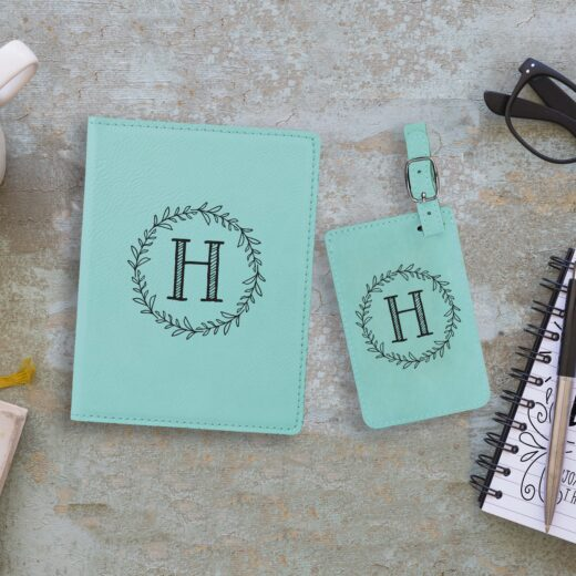 Leather Passport & Luggage Tag Set | H Reef