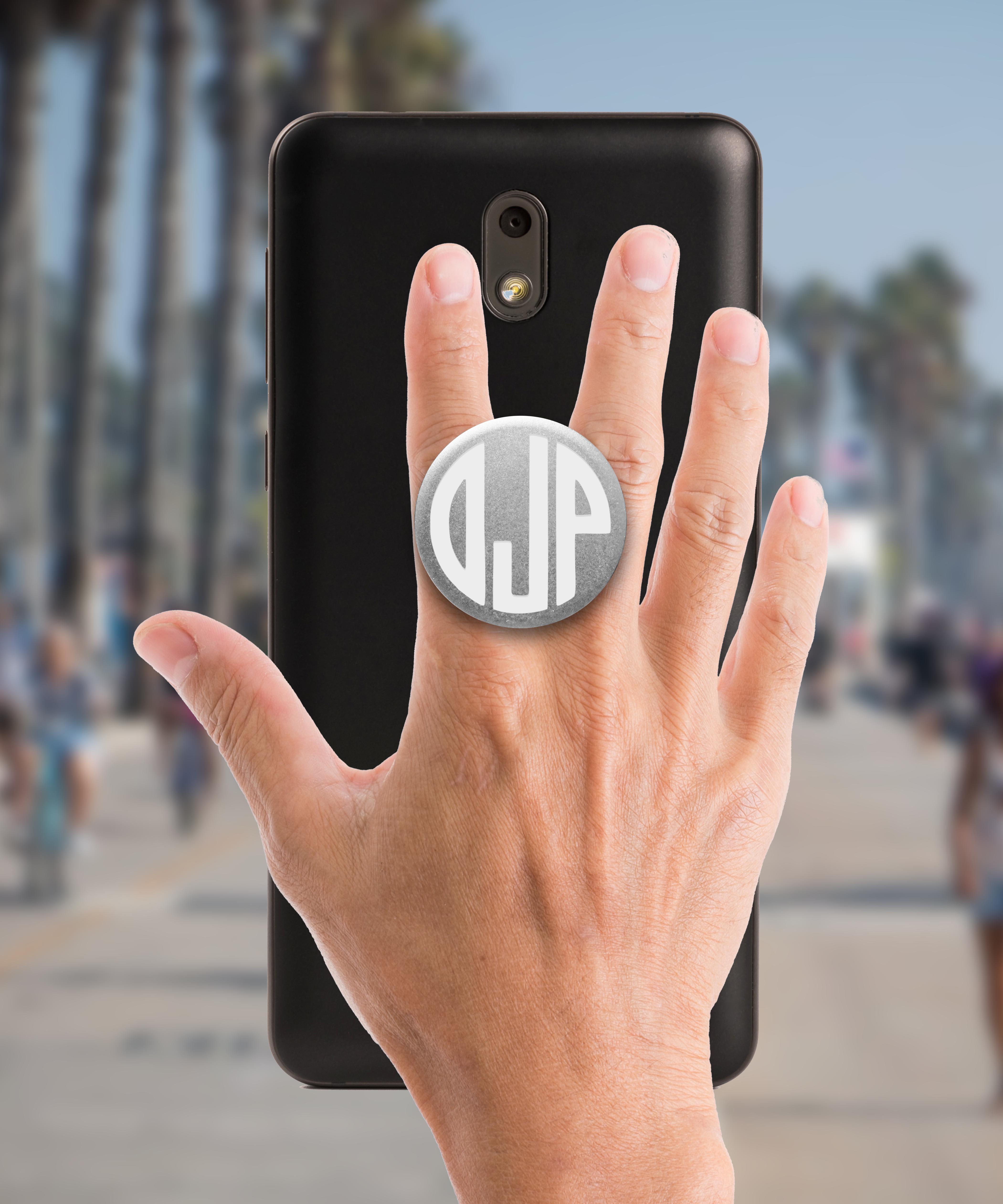 Phone Pop Grip Holders Ojp Monogram Etchey