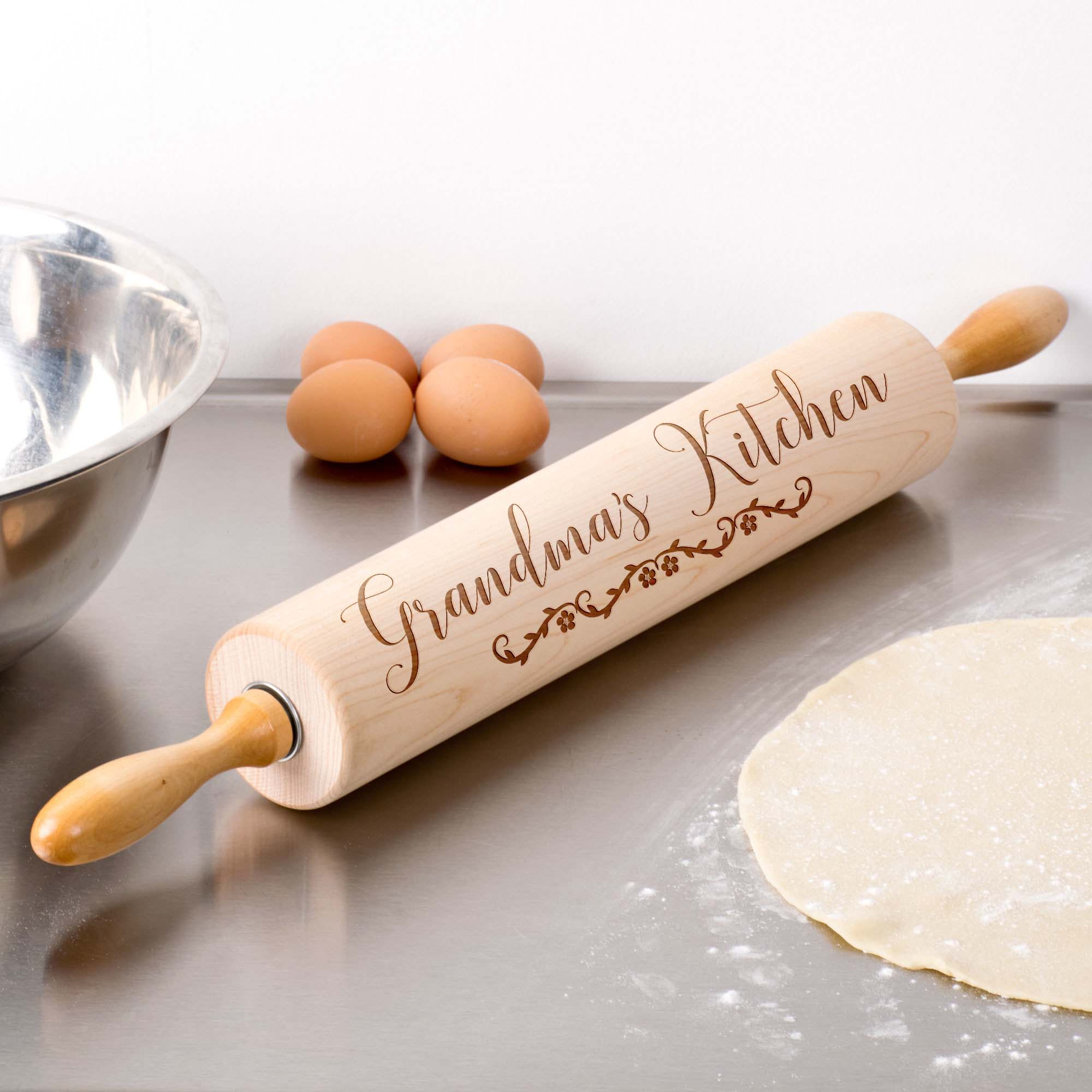 Personalized Wood Rolling Pin | Grandma