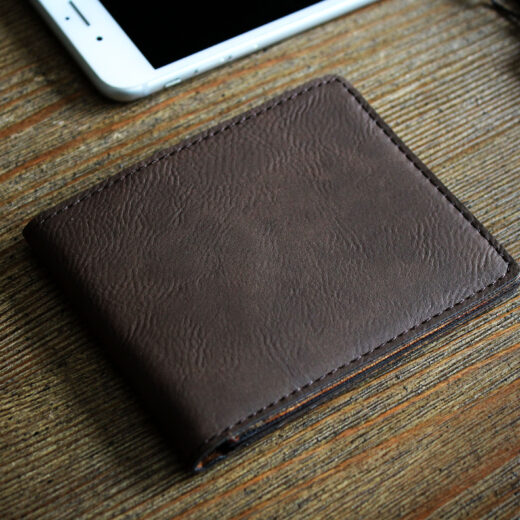 Leather Bifold Wallet | Best Dad Ever