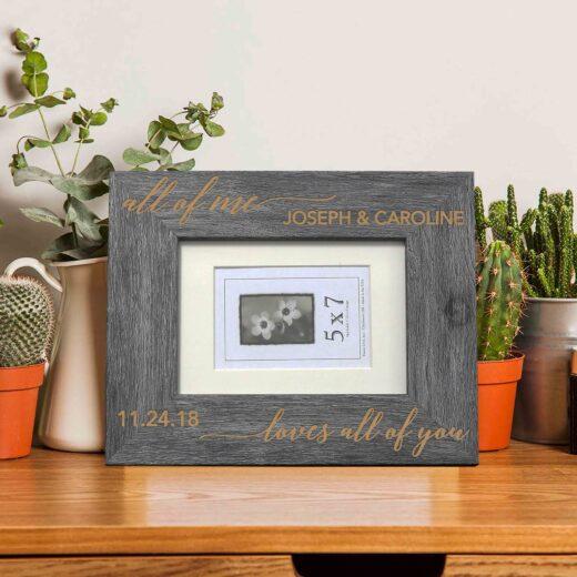 Personalized Picture Frame | Joseph Caroline