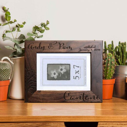 Personalized Picture Frame | Andy Pam