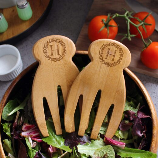 Personalized Salad Hands | H Reef