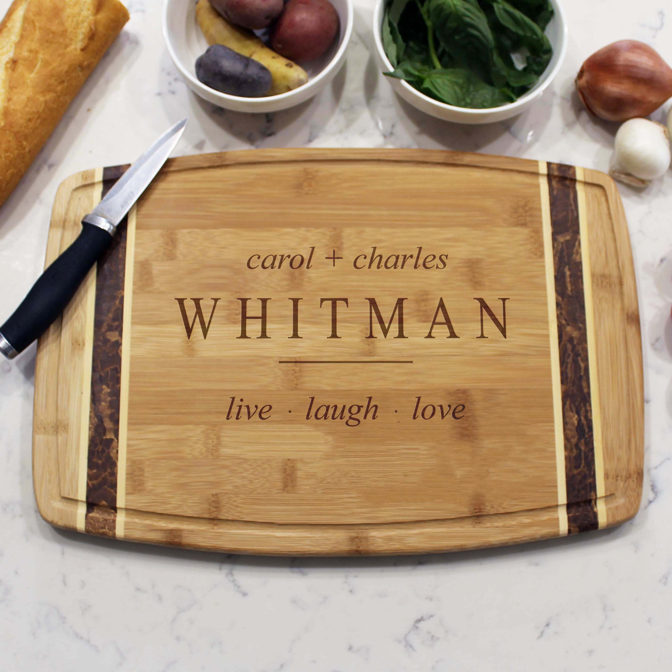 Whitman Personalized Cutting Boards Etchey