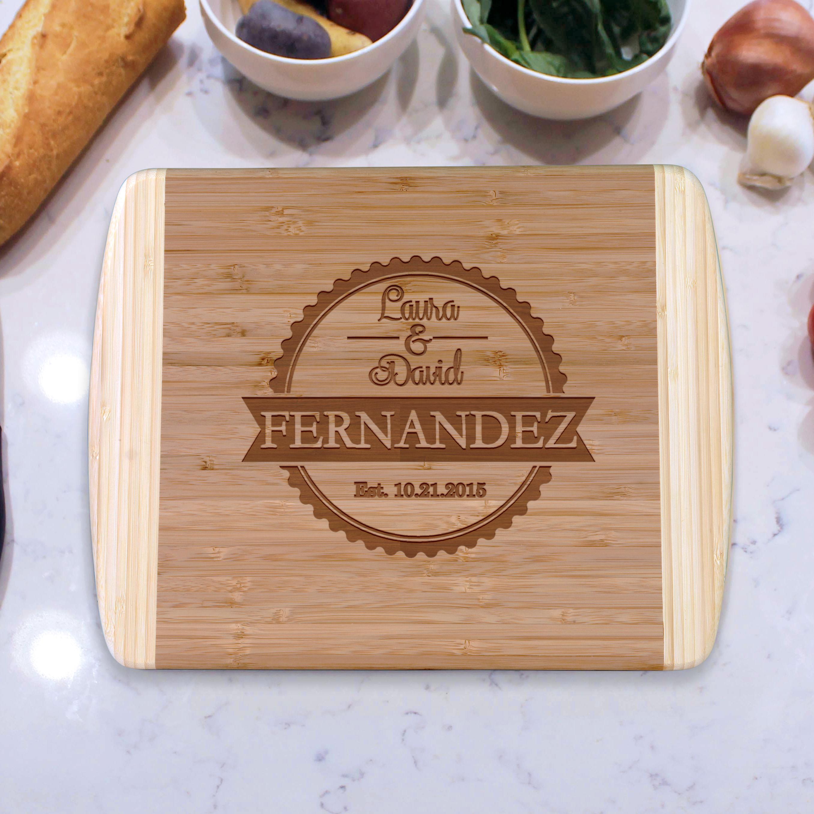 Fernandez Personalized Cutting Boards Etchey